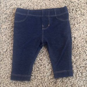 Circo 0-3 month jeggings jeans